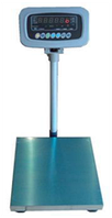 Электронные товарные весы со стойкой ВПЕ-Центровес-405-150У с защитой датчика; (400х500 мм)
