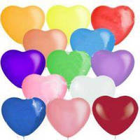 Шарики «Влюбленное сердце» 100 шт 26 см