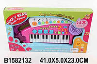 Орган на батарейках, 24 клавиши