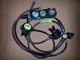 Регулятор автомат для дайвінгу Scubapro MK16/17 R380 + кансоль
