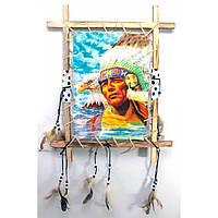 Панно декоративное Индеец и орел