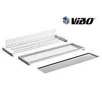 Сушка VIBO(Italy) с метал. поддоном / 450 мм - не регулируемая / хром (ESV45VACP)