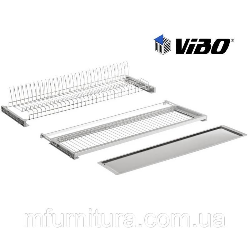 Сушка с метал. поддоном, 450 мм, хром с регул. рамой - VIBO(Italy)