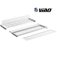 Сушка VIBO(Italy) с пластик. поддоном / 450 мм - регулируемая / хром (ESV45VPRRCP)