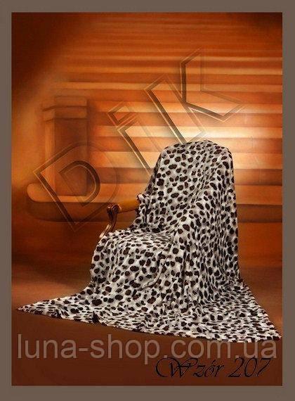Плед облегченный из микрофибры Белый гепард 200 220, Польша - Интернет- магазин домашнего 8f2943c665d