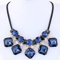 Колье Синий кристал