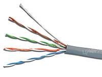 Кабель сетевой ДКЗ UTP CCA 4x2x0,5 внутренний