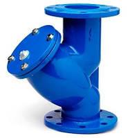 Фильтр фланцевый осадочный для воды, Ру16 (Украина)