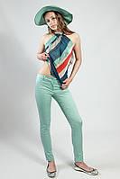 Брюки  женские  Rinascimento летние узкие,цвет- мяты