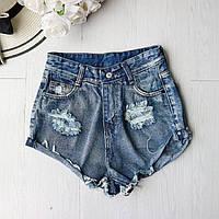 Джинсовые шорты женские M