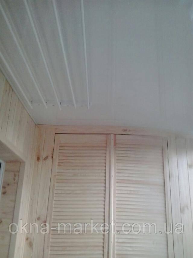 Профессиональное остекление балконов под ключ в Киеве (Окна Маркет)