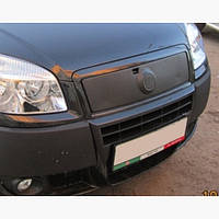 Зимняя накладка на решетку верхняя Fiat Doblo II 2005+