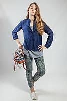 Брюки   джинсы  женские с принтом  Rinascimento