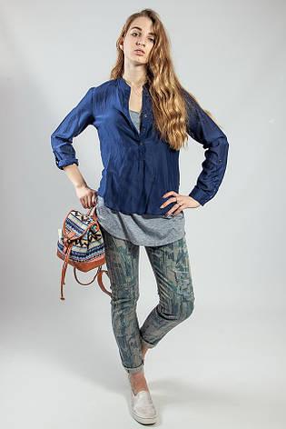 Брюки   джинсы  женские с принтом  Rinascimento , фото 2