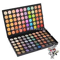 Тени теплых тонов 120 цветов Mac Cosmetics №3 палитра теней палетка для макияжа