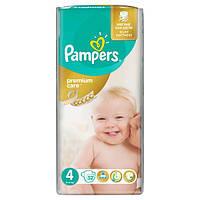 Подгузники Памперс Pampers Premium Care Maxi 4 (8-14кг.) 52шт.