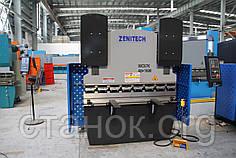 Zenitech WC 67 K T Листогиб гидравлический c ЧПУ Пресс гибочный Кромкогиб зенитек вс к