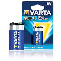 Батарейка крона VARTA High Energy 9V