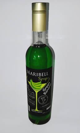 Сироп барный тм «Maribell» Банан зеленый, фото 2