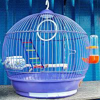 Круглая Клетка для канареек, попугаев