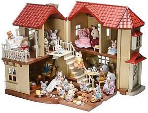Будиночки й меблі для ляльок, замки