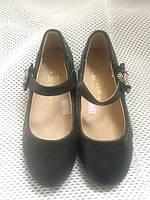 Чорні балетки