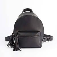 Черный матовый рюкзак  - S, фото 1