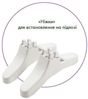 Бытовой элетрический конвертор Atlantic CMG BL–Meca F17 500 Вт ножки