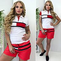 "Стильная женская футболка для пышных дам "" Tommy "" Dress Code"