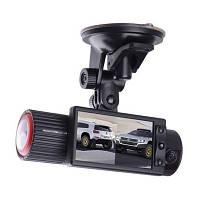 Автомобильный видеорегистратор BlackBox DVR X2000 2 камеры, GPS, G-Sensor