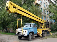 Услуги автовышки АГП-22