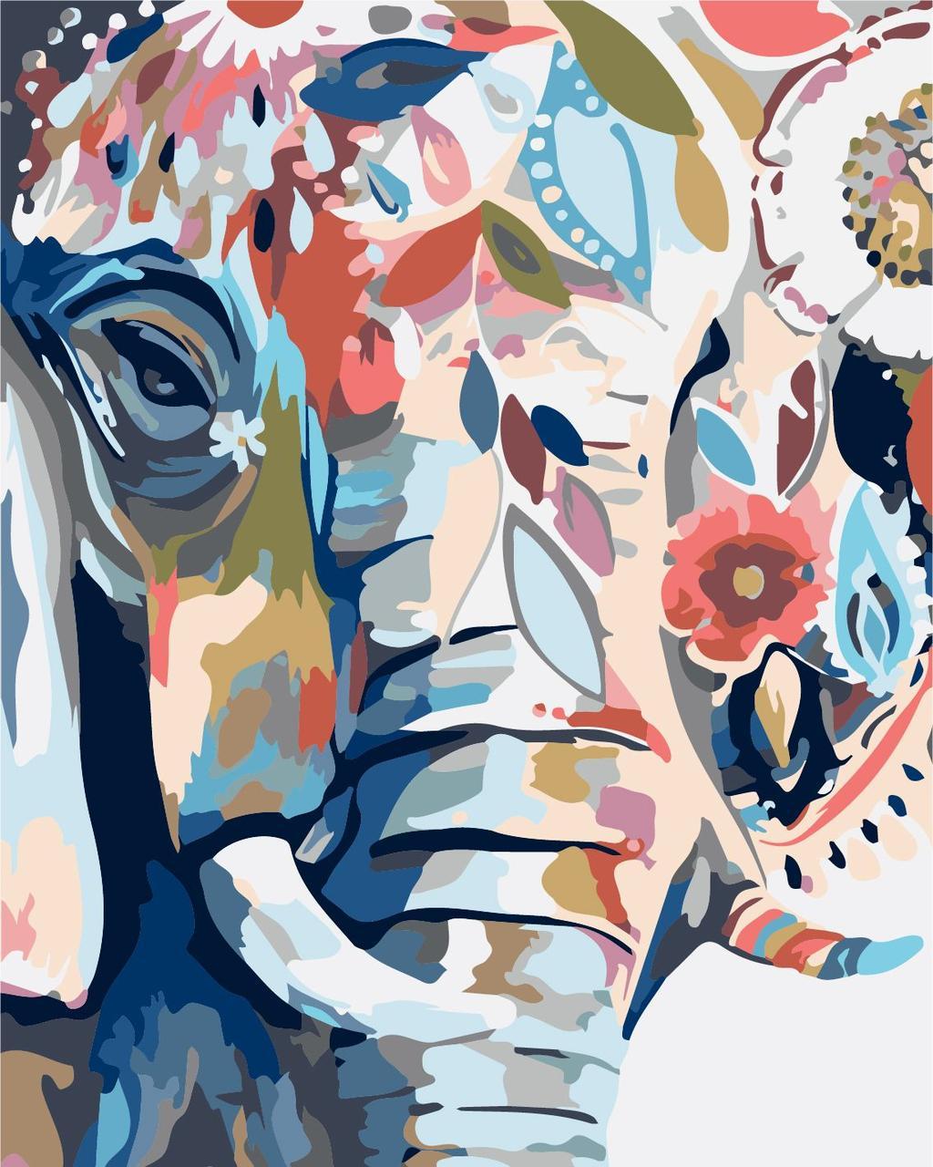 Живопись по цифрам Идейка Восточные краски (KHO2470) 40 х 50 см (без коробки)