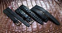 Ремінець для годинника з шкіри крокодила, фото 1