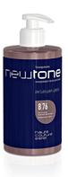 Тонирующая маска для волос 8/76 (светло-русый коричнево-фиолетовый) Newtone Estel 435 мл.