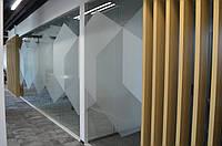 Перегородки из калёного стекла