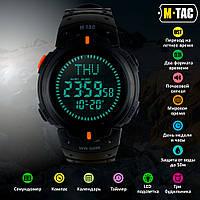 M-Tac часы тактические с компасом черные