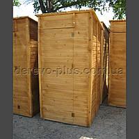 Туалет деревяний