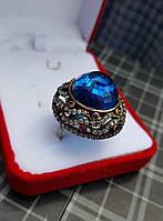 Винтажный роскошний серебряный перстень 925