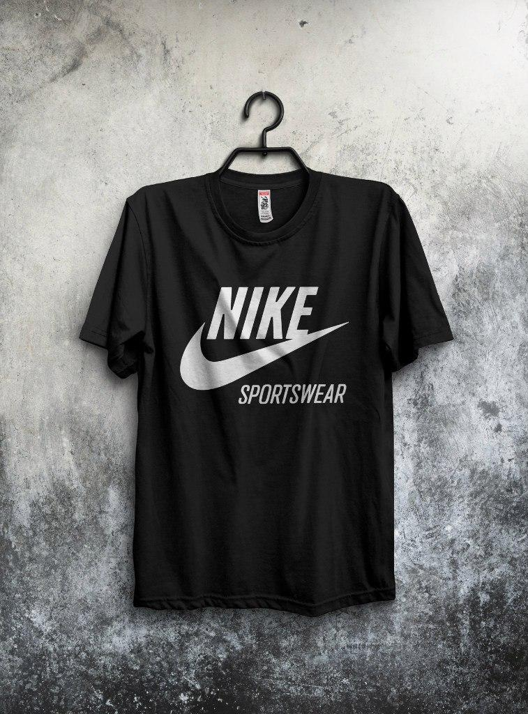 Футболка Nike Sportswear (Найк Спортсвеар), большой логотип