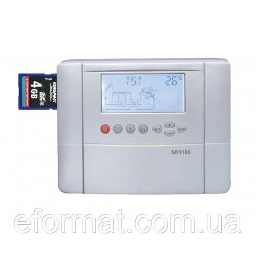 Контроллер для гелиосистемы SHUANGRI СВУ СК1188 (с подключением интернет + SD)