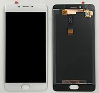 Оригинальный дисплей (модуль) + тачскрин (сенсор) для Meizu E2 (белый цвет)