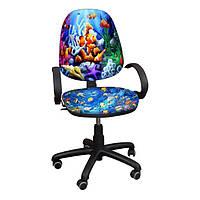 """Детское компьютерное кресло Поло РМ """"Рыбки-1"""""""