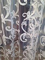 Тюль бархатная нить Версаль