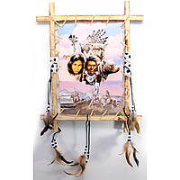 Панно картина на стену Индейцы