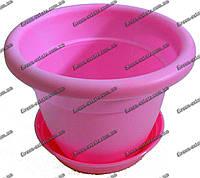 Вазон Антик 15 1,7 л розовый