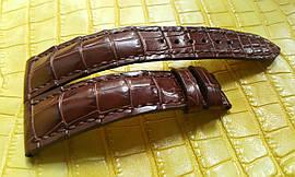 Ремінець для годинника з шкіри крокодила