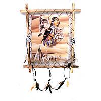 Панно декоративное на стену Индейцы