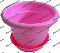 Вазон Антик 18 2,85 л розовый