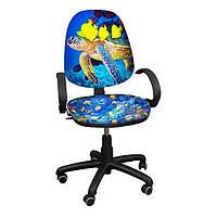 """Детское компьютерное кресло Поло РМ """"Рыбки-2"""""""