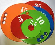 Набор дисков (блинов) для штанги 1,25-2,5-5-10-15-20-25 кг (160 кг)